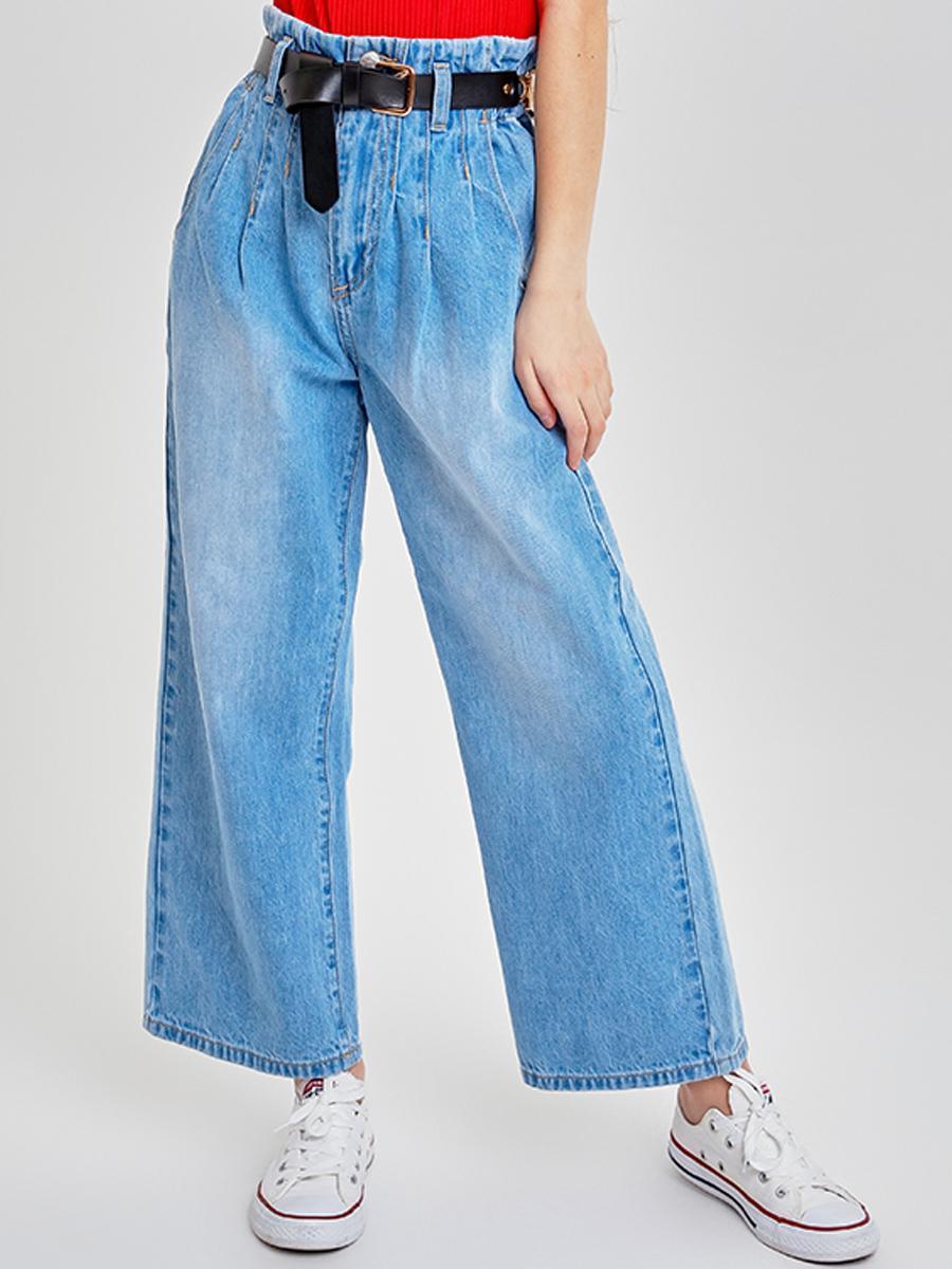 джинсы to be too для девочки, голубые