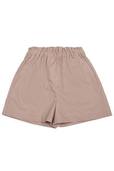 шорты gaudi для девочки, бежевые