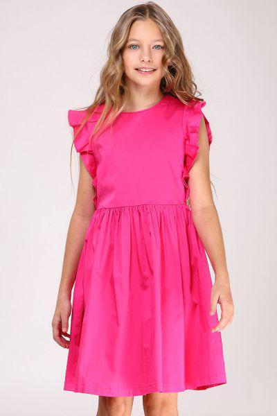 Купить Платье, Y-clu', Розовый, Полиэстер-80%, Эластан-20%, Женский
