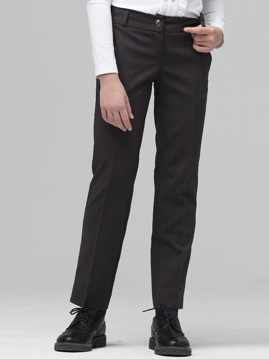брюки silver spoon для девочки, серые