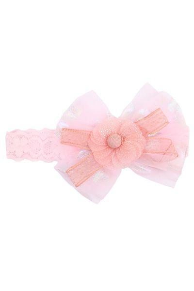Купить Повязка, Multibrand, Розовый, UNI, Текстиль-100%, Женский