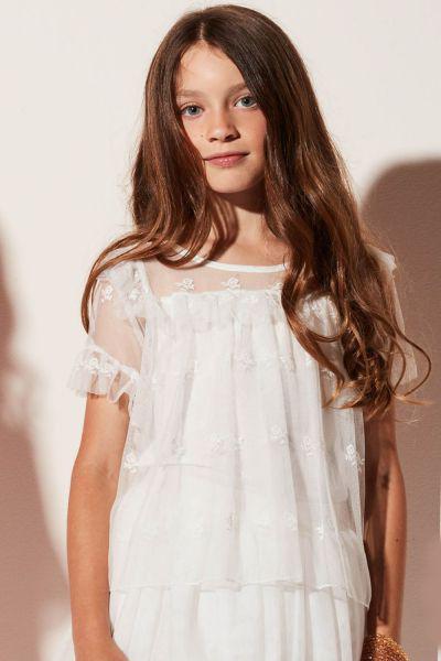 Купить Блуза, Gaudi, Белый, Полиамид-100%, Женский