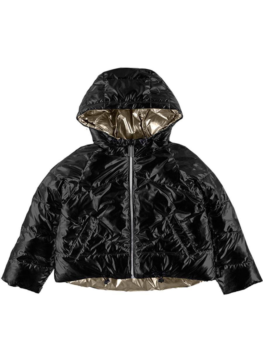 куртка mayoral для девочки, черная