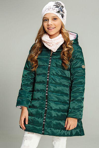 Купить Пальто, Les Trois Vallees, Зеленый, Полиэстер-64%, Нейлон-36%, Женский