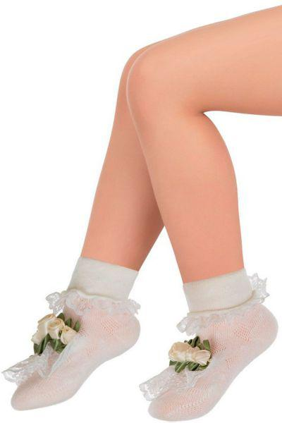 Носки для девочки SBBA-1462 белый Charmante, Китай (КНР)