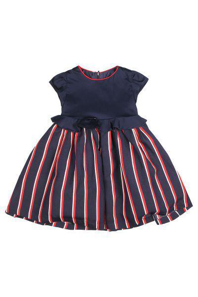 Купить Платье, Manila Grace, Разноцветный, Тенсел-82%, Полиэстер-18%, Женский