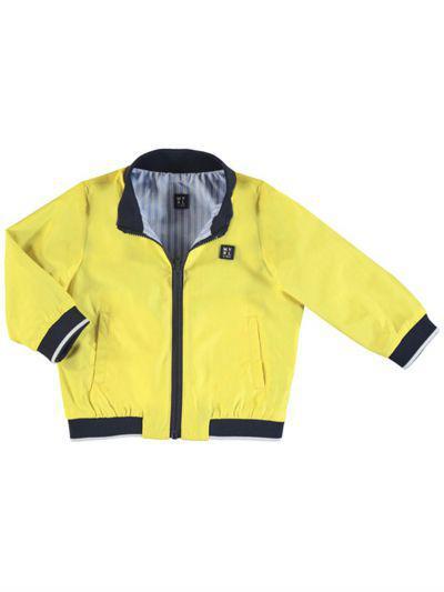 куртка mayoral для мальчика, желтая