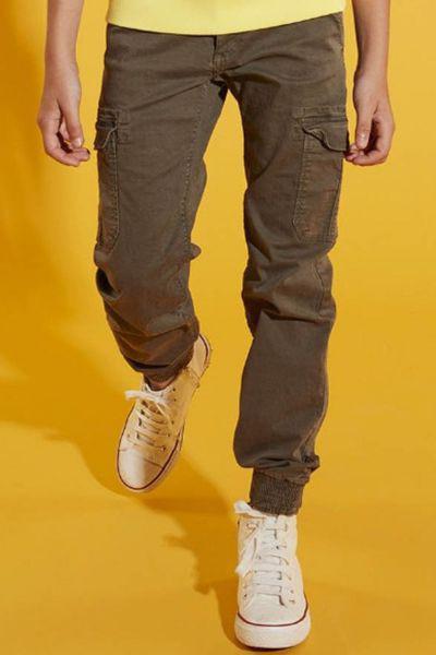 брюки gaudi для девочки, зеленые