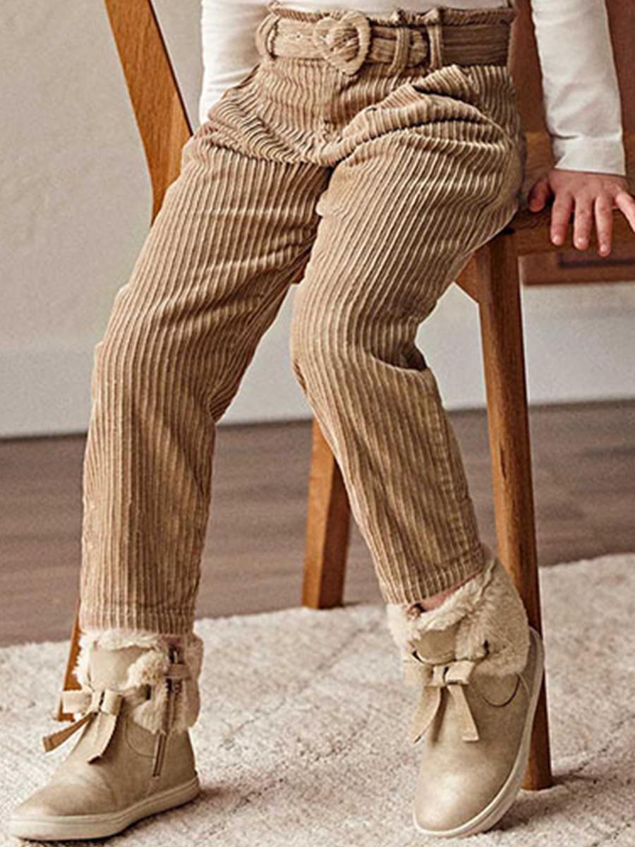 брюки mayoral для девочки, коричневые