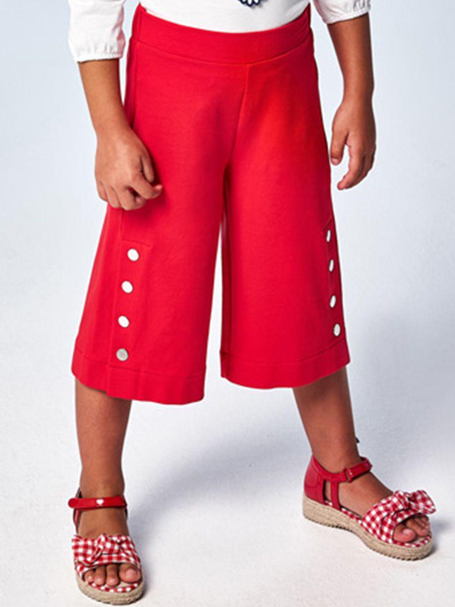 бриджи mayoral для девочки, красные