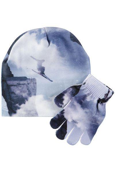 Купить Шапка+перчатки, , Molo