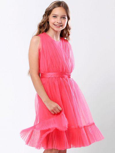 Купить Платье, To Be Too, Розовый, Полиэстер-65%, Нейлон-35%, Женский