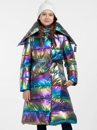 пальто смена для девочки, разноцветное