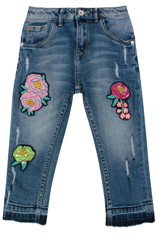 джинсы vingino для девочки, голубые