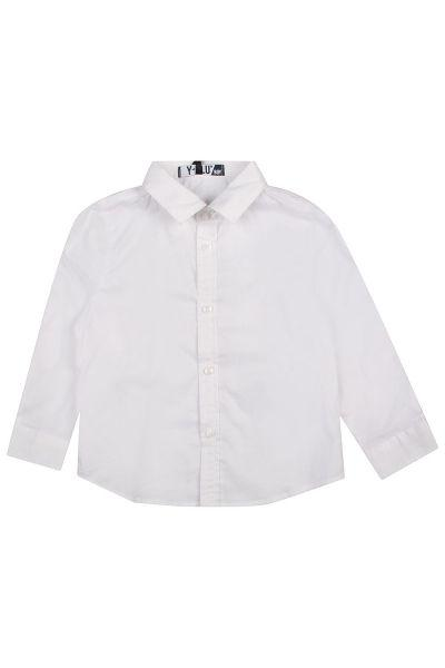 Купить Сорочка, Y-clu', Белый, Хлопок-100%, Мужской