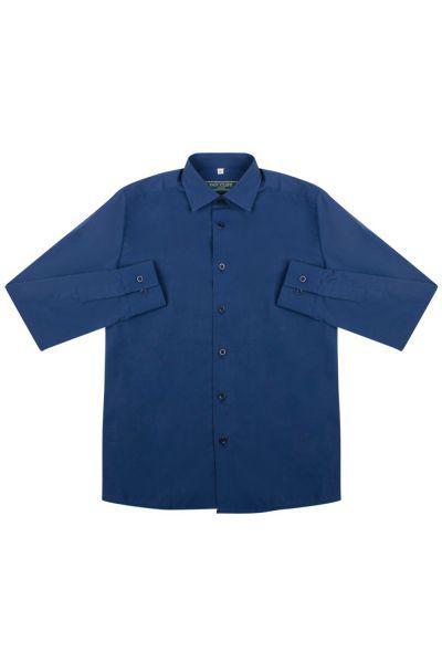 рубашка van cliff для мальчика, синяя