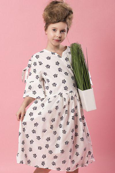 Купить Платье, Noble People, Белый, Хлопок-100%, Женский