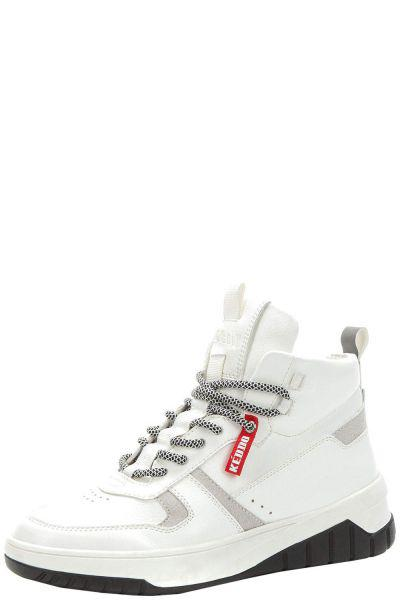 Купить Ботинки, Keddo, Белый, Искусственная кожа-100%, Мужской