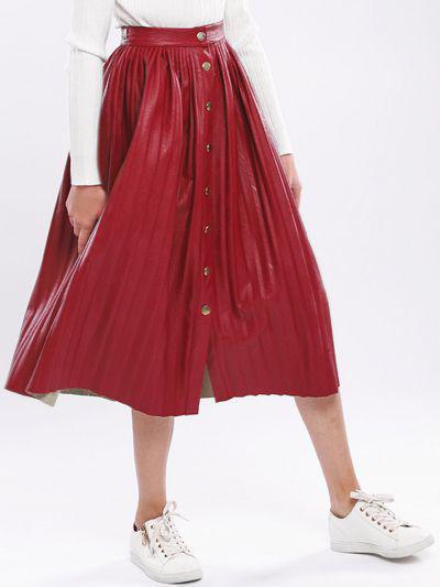 юбка y-clu' для девочки, красная
