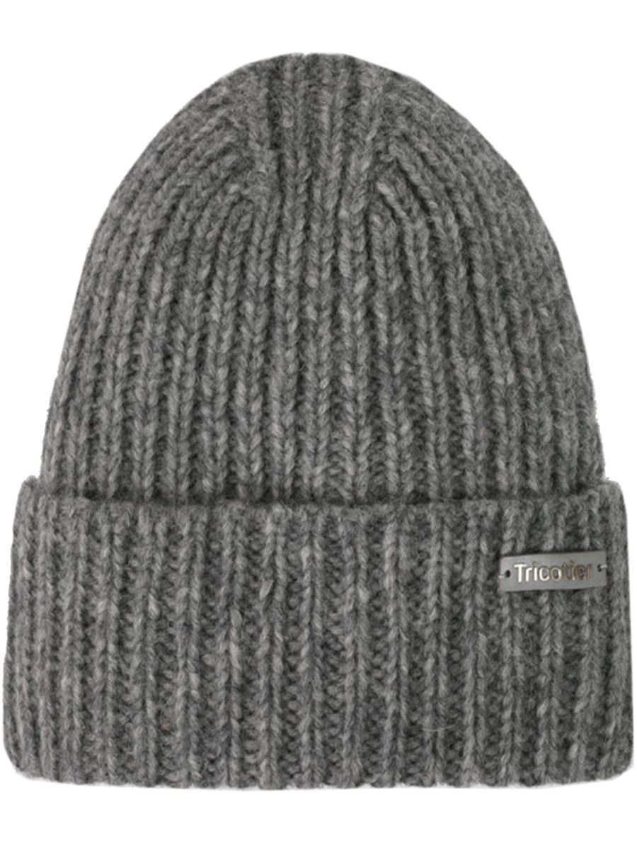 шапка tricotier для девочки, серая