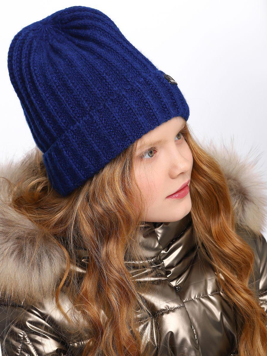 шапка noble people для девочки, синяя