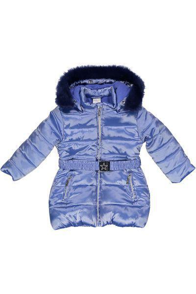 Купить Куртка, Trybiritaly, Голубой, Полиэстер-55%, Полиамид-45%, Женский