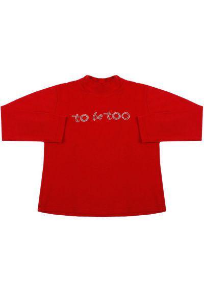 Водолазка, To Be Too, Красный, Хлопок-94%, Эластан-6%, Женский  - купить со скидкой