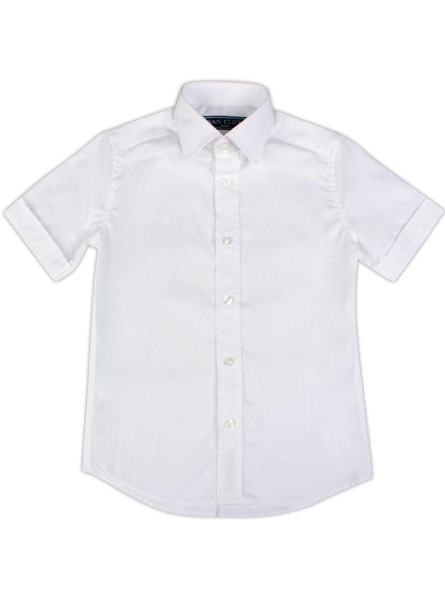 рубашка van cliff для мальчика, белая