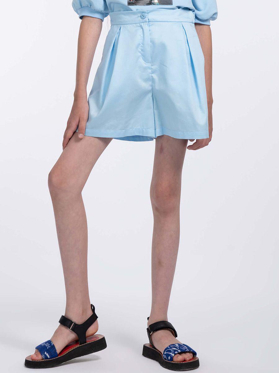 шорты смена для девочки, голубые
