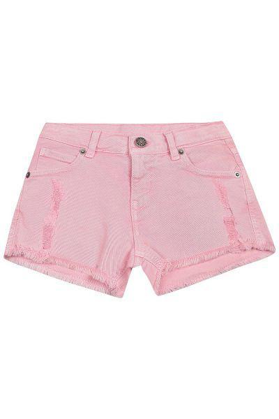 шорты gaudi для девочки, розовые
