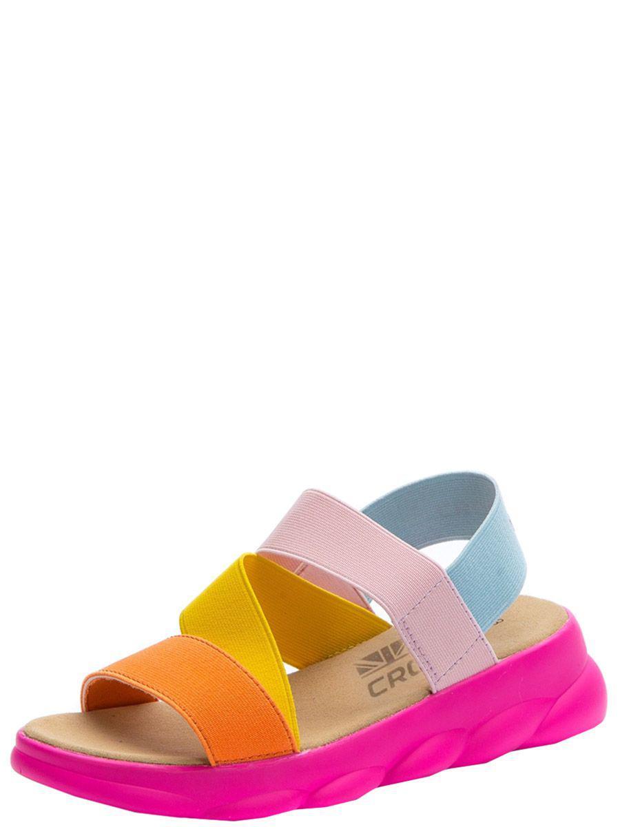 сандалии crosby для девочки, оранжевые