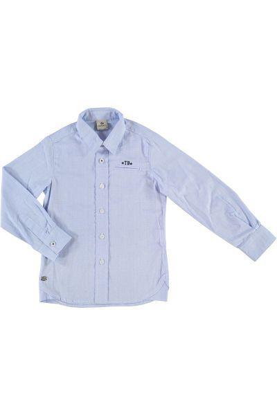 рубашка trybiritaly для мальчика, голубая