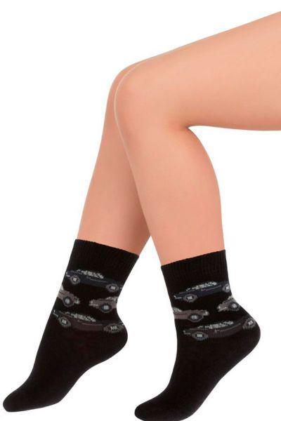 Носки для мальчика SNK-13140 чёрный Charmante, Италия
