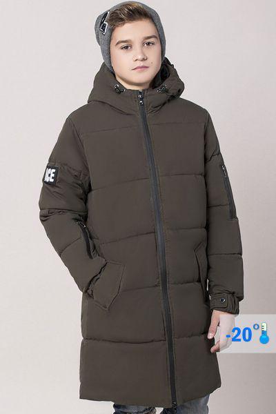 Купить Пальто, Noble People, Коричневый, Хлопок-65%, Полиамид-35%, Мужской
