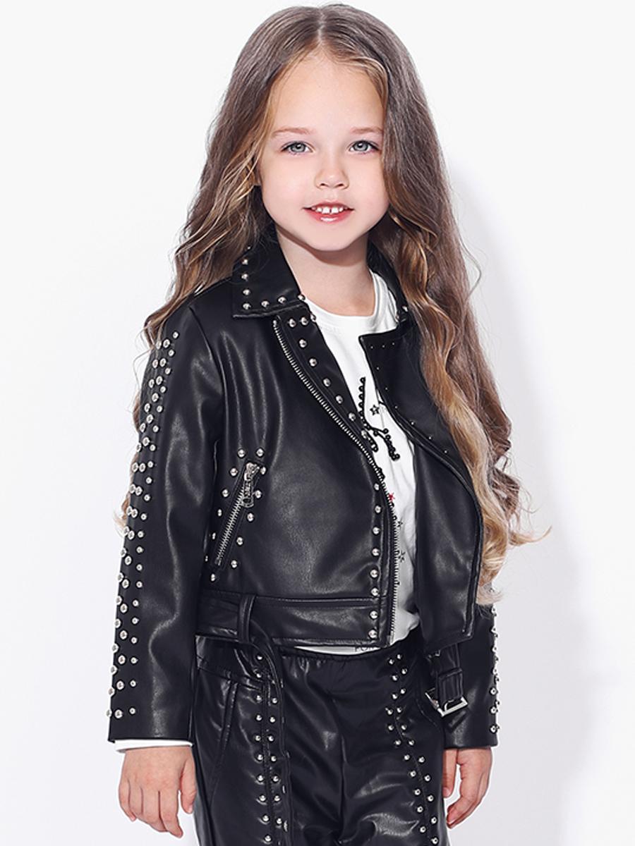 куртка to be too для девочки, черная
