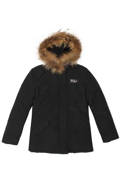 Купить Куртка, Y-clu', Черный, Полиэстер-100%, Женский