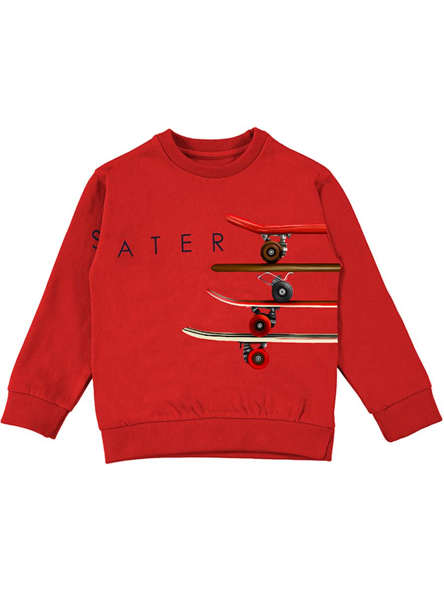пуловер mayoral для мальчика, красный
