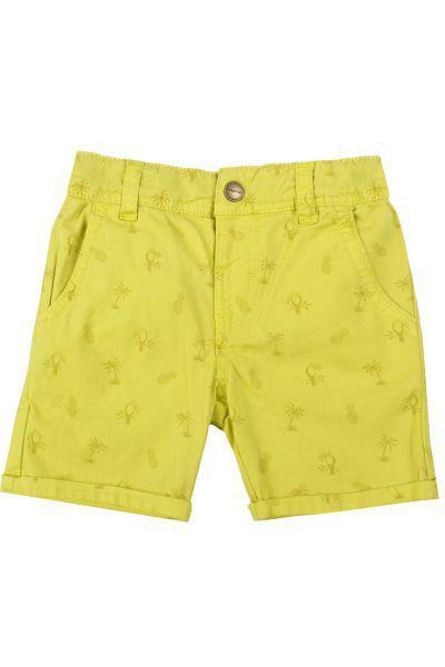 шорты mayoral для мальчика, желтые