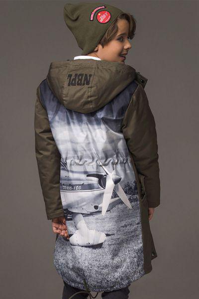 Купить Куртка, Noble People, Коричневый, Хлопок-60%, Полиэстер-34%, Нейлон-6%, Мужской