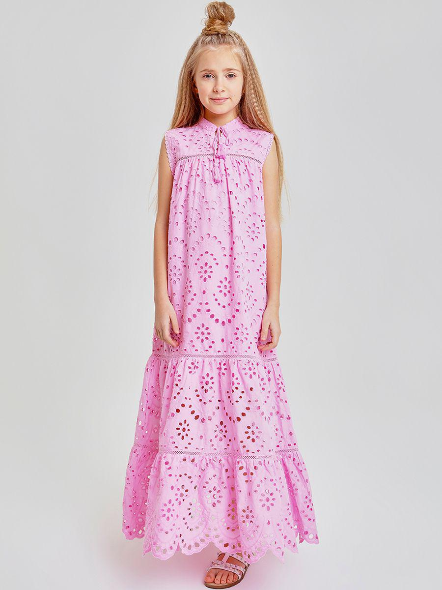 платье to be too для девочки, розовое