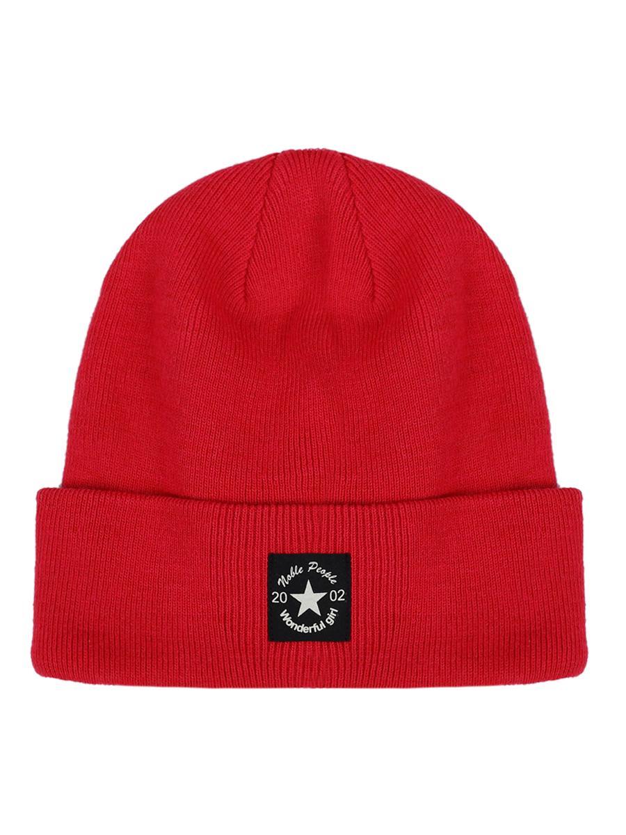 шапка noble people для девочки, красная