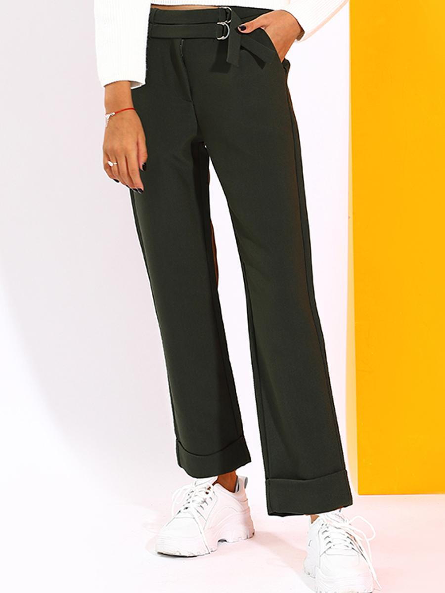 брюки to be too для девочки, зеленые