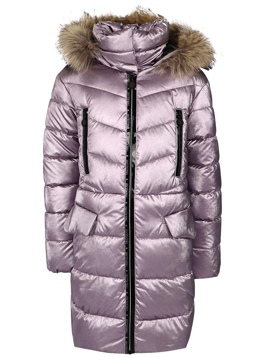 Купить Пальто, Noble People, Фиолетовый, Полиэстер-100%, Женский