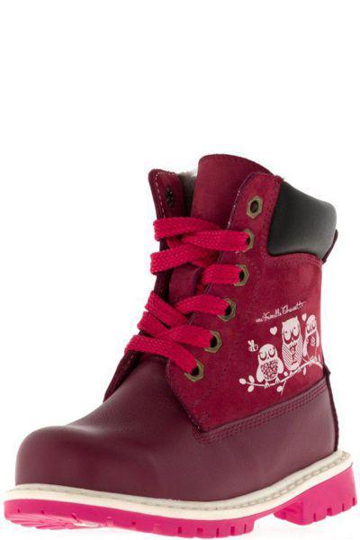 Купить Ботинки, Bottilini, Красный, Кожа-100%, Женский