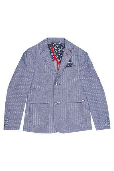 пиджак gaudi для мальчика, голубой