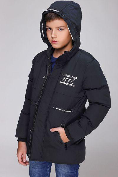 Купить Куртка, Vingino, Черный, Полиэстер-80%, Нейлон-20%, Мужской