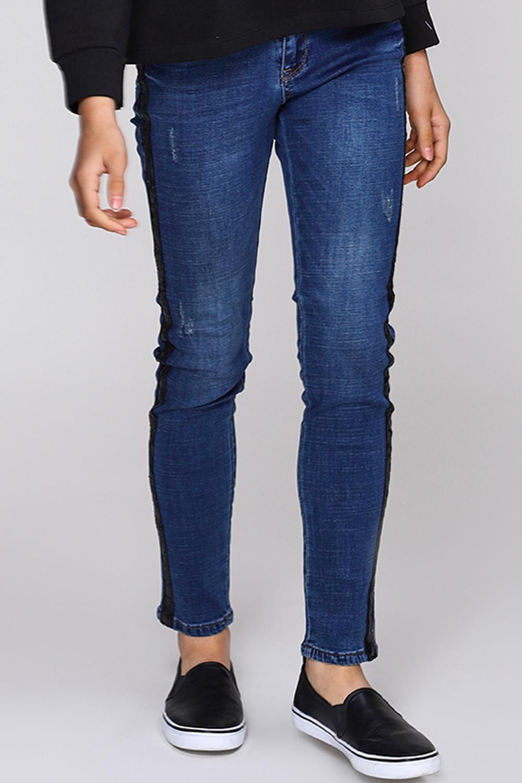 джинсы gaudi для девочки, синие