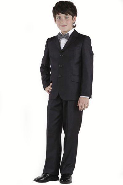 костюм silver spoon для мальчика, черный