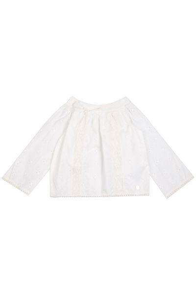 Купить Блуза, Gaudi, Белый, Хлопок-100%, Женский