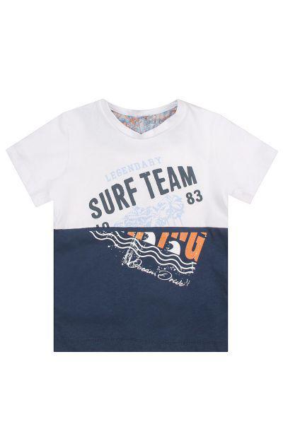 футболка y-clu' для мальчика, бежевая